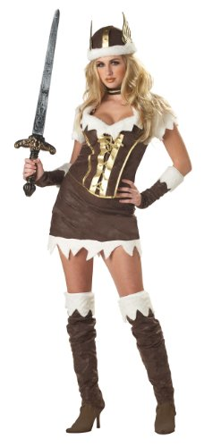CA Costume Viking Vixen Costume (Sword/Boots not included)