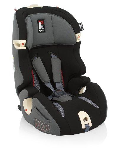 Inglesina AV97E0BLK Prime Miglia I-fix Seggiolino Auto Gr. 1/2/3 (9 - 36...