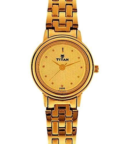 Titan Titan Analog Multiclolor Dial Women's Watch - ND354YM01 (Silver)