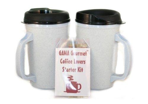 Gourmet 20 Oz Thermoserv Coffee 2 Granite Mug Kit