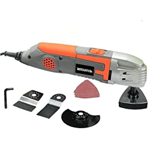 Terratek TPMT319C Oscillating Multi Function Power Tool, 9-Piece Kit $25.00
