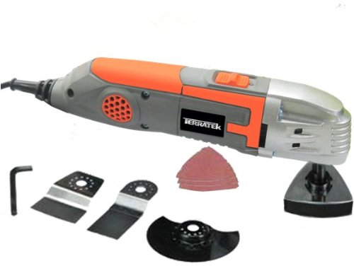 Learn More About Terratek TPMT319C Oscillating Multi-Function Power Tool, 9-Piece Kit