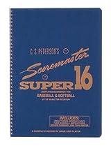 Cramer 191220 Super 16 Scorebook