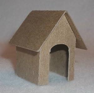 how to make a mini cardboard house