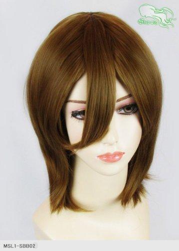 スキップウィッグ 魅せる シャープ 小顔に特化したコスプレアレンジウィッグ シャイニーミディ マロングラッセ