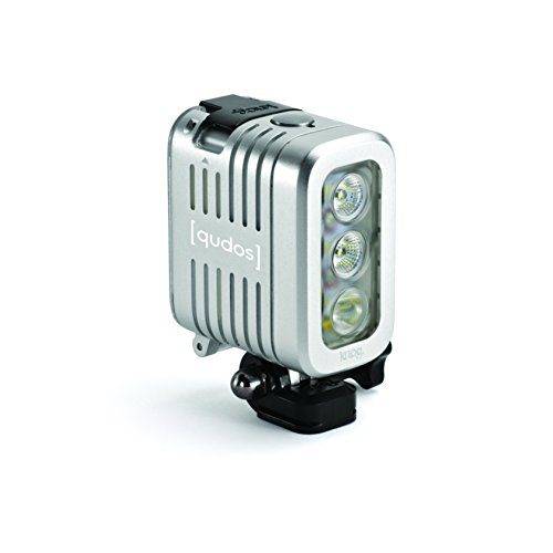Knog-Qudos-Action-Torcia-LED-per-Action-Cam-Argento