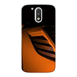 Mobile Back Cover For Motorola 4th Generation (Moto g4) (Printed Designer Case)