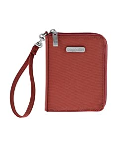 Baggallini Luggage Passport Case With RFID Blocking Fabric