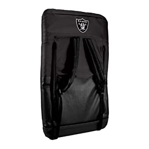 Nfl Oakland Raiders Portable Ventura Reclining Seat from Picnic Time