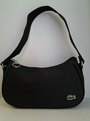 New Lacoste Women39s Bag One Size Blue Amazoncouk Clothing