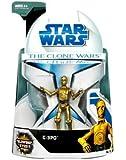 "Star Wars 3.75"" Clone Wars Basic Figure C-3PO"