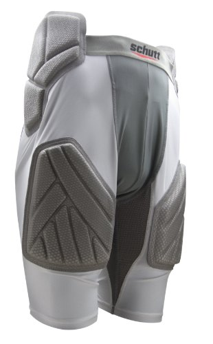 Schutt XP Protective All-In-One Girdle (Adult) White/Gray, X-Large