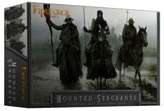 Fireforge Games: Mounted Sergeants Cavalry (12)
