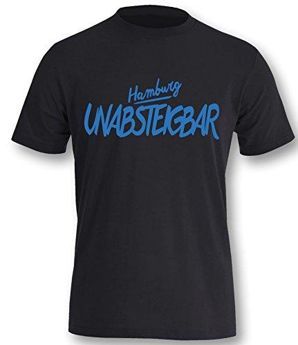 luckja-hamburg-unabsteigbar-fanshirt-herren-t-shirt-schwarz-blau-grosse-m