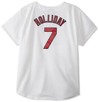 MLB St. Louis Cardinals Matt Holliday White Home Replica Baseball Ladies Jersey by Majestic
