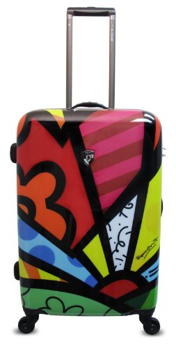 Heys USA Luggage Britto New Day 26 Inch Hard Side Suitcase, Multi-Colored, One Size best price