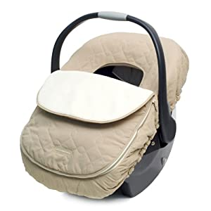 JJ Cole Car Seat Cover, Khaki