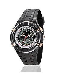Yepme Mens Analog Digital Watch - Black