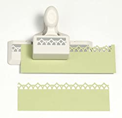 Martha Stewart Crafts Edge Punch, Garden Rail