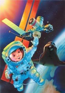 Ravensburger Space Adventure Puzzle (35 pc) - 1