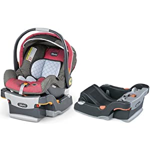 Chicco KeyFit 30 Infant Car Seat with Extra Car Seat Base, Foxy