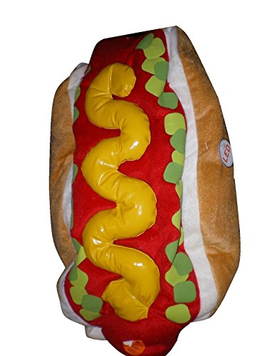 [Halloween Pet Costume ~ HOT DOG ~ Size M] (Dog Burger Costume)
