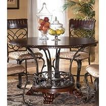 Big Sale Best Cheap Deals Traditional Dark Brown Alyssa Dining Room Table