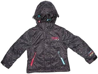 O'Neill Carat Girls Jacket Black AOP 10 years