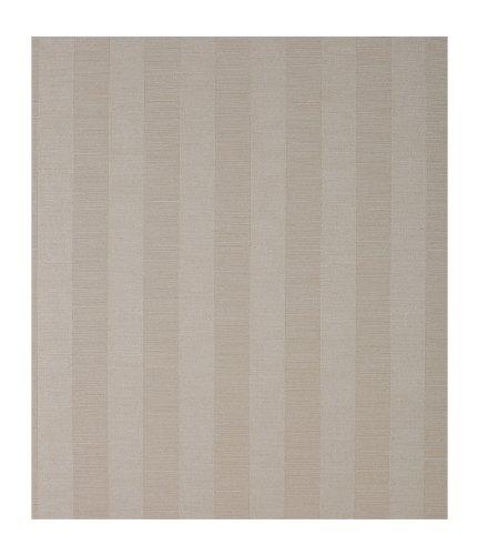 York Wallcoverings Color Library Tonal Stripe Texture Wallpaper, Coffee/ Cream