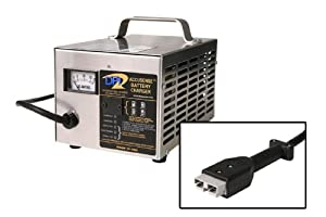 36volt 18amp Golf Cart Battery Charger with Anderson SB-50 connector by Accusense Intelligent Charger