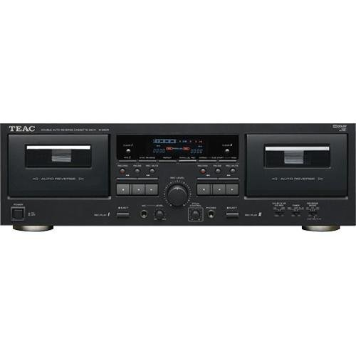 Check Out This Teac W-890R-B Double Auto-reverse Cassette Deck (Black)
