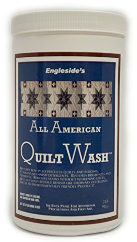 All American Quilt Wash, Unscented Vintage and New Quilt Specialty Cleaner, 32 Ounces