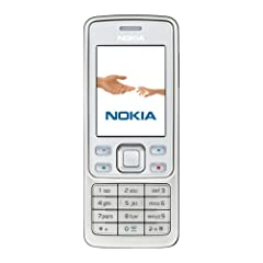 Nokia 6300 white (EDGE, GPRS, Kamera mit 2 MP, Musik-Player, Bluetooth, Organizer) Handy ohne Branding