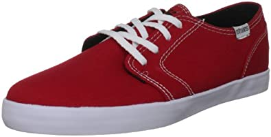 Etnies Men's Lurker Vulc H Red/White/Black Lace Up 4104000123 9 UK, 10 US