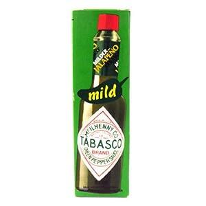 Tabasco Mild Green Pepper Sauce 57g