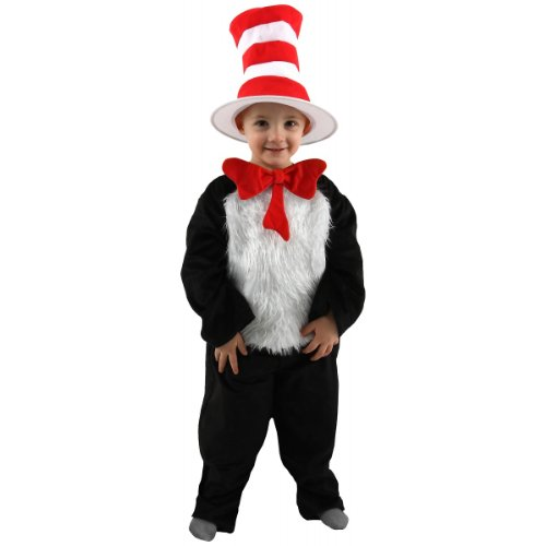 Deluxe Cat in the Hat Costume - Toddler