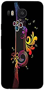 Timpax Protective Armour Case Cover lightweight construction easily slides in and out of pockets. Multicolour Printed Design : Music is faith.Exactly Design For : LG Nexus 5X