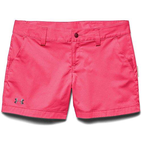 Under Armour UA Inlet Short - Women's Pink Shock / Graphite 4