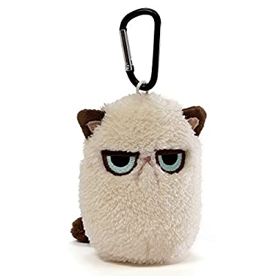 Gund Grumpy Cat Mini Plush - Carabiner by Gund