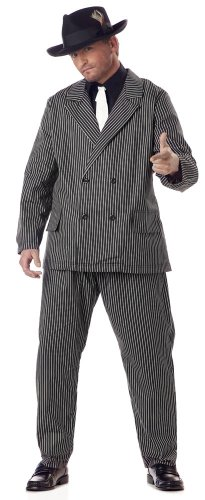Halloween Gangster Costumes Plus Size Men's