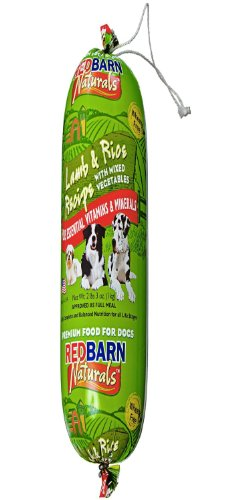 Redbarn Pet Products Lamb And Rice Food Roll