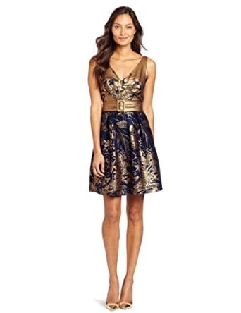 Eva Franco Women's Alexa Dress, Shangri-La, 0