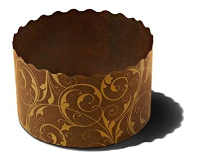 Cupcakes baking cups Perfect for muffins, cupcake souffle, panettone etc Size W 2.7 in X H 2 in PA7050FG