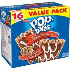 Pop-Tarts Toaster Pastries, Frosted Chocolate Chip Cookie Dough 16 Toaster