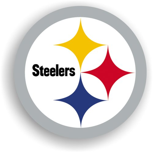 NFL Pittsburgh Steelers 12-Inch Vinyl Logo Magnet