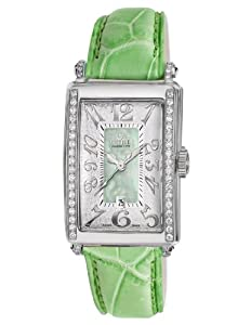 Gevril Women's 7246NE Mini Quartz Avenue of Americas Green Diamond Watch from Gevril