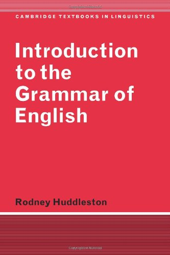 Modern English Linguistics: A Structural and Transformational Grammar