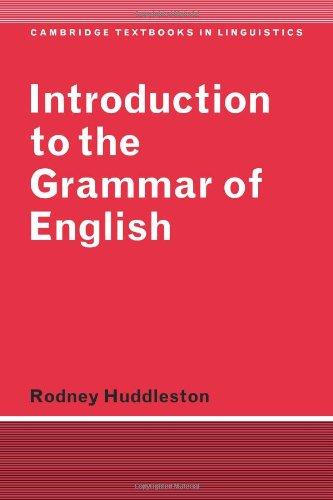 Modern English Linguistics: A Structural and Transformational Grammar