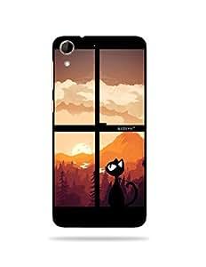 alDivo Premium Quality Printed Mobile Back Cover For HTC Desire 728 / HTC Desire 728 Back Case Cover (MKD179)