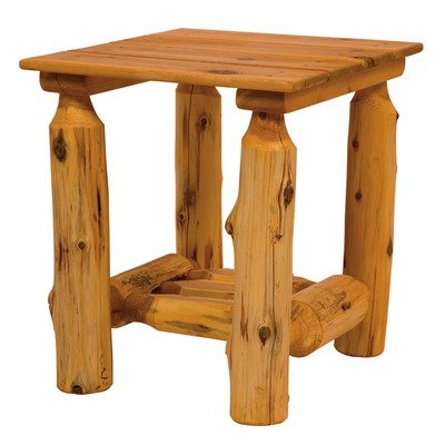 Cheap Fireside Lodge Outdoor End Table (Unassembled) 22050 (B002U0RJ8Y)
